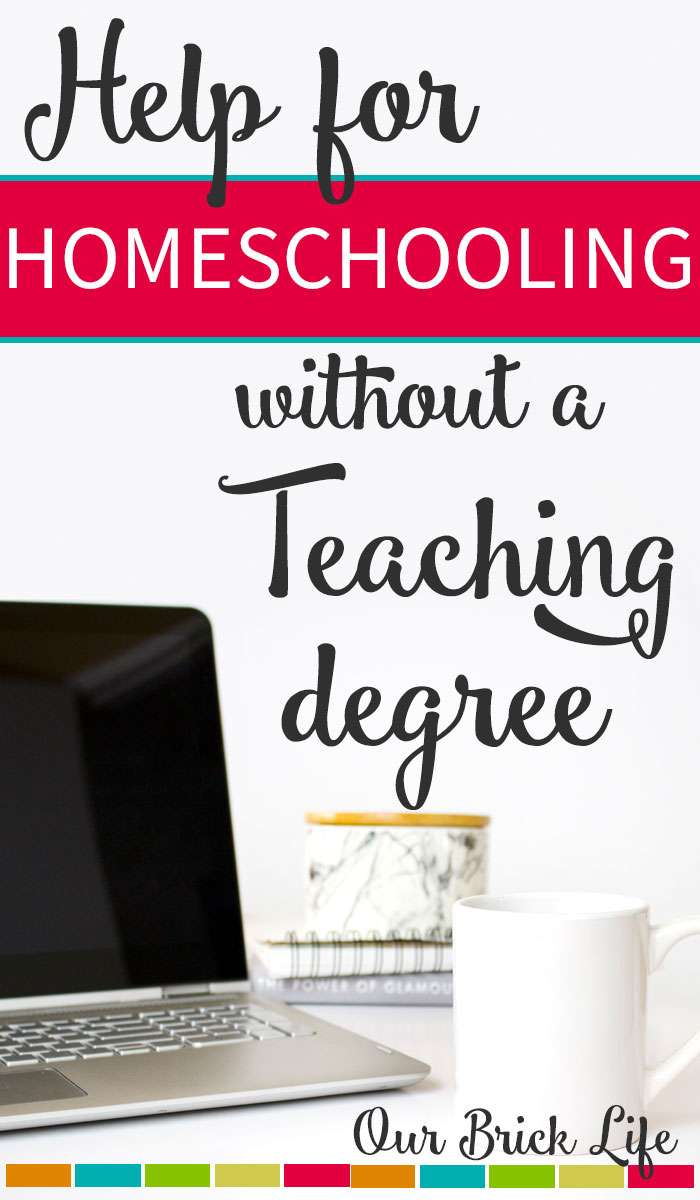 Homeschooling without a Teaching Degree