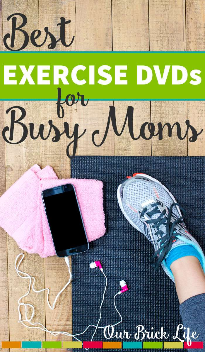 Best Exercise DVDs for Busy Moms
