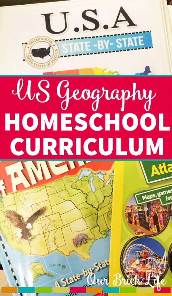 US Geography Homeschool Curriculum